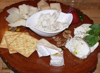 A cheese board to whet your appetite.