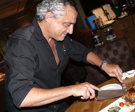 Chef Massimo Gullotta.