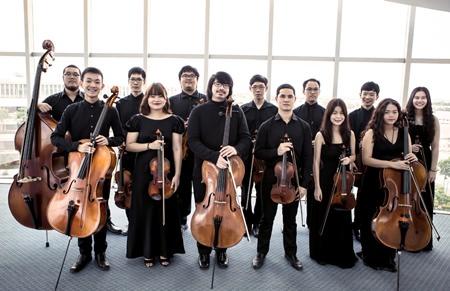 The Salaya Chamber Orchestra.
