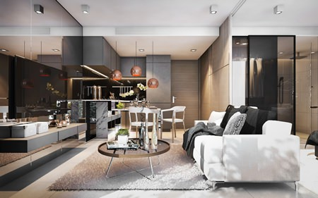 X2 Vibe Pattaya Seasphere will offer 65 units in both 1 and 2-bedroom configurations.