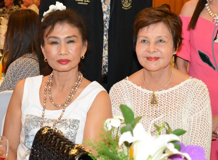 Nittaya Patimasongkroh and Sophin Thappajug, two distinguished members of the PSCA.