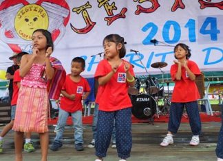 Project children perform on stage at last year's Children's Fair.