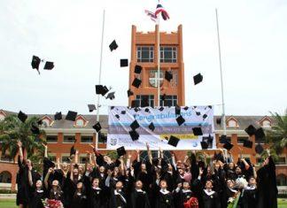 Regents International School Pattaya Graduation Day.
