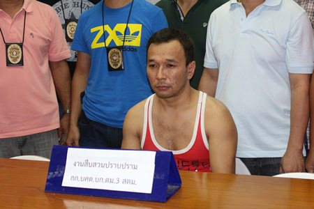 Kazakhstan national Syrym Parmanov will be deported to face charges of rape, murder and robbery.