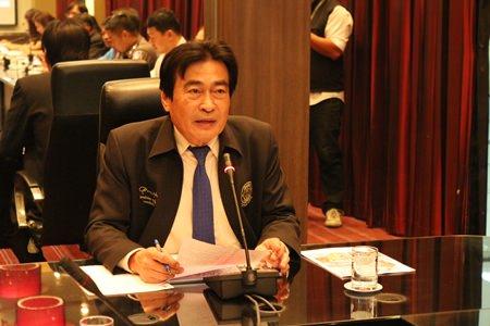 Deputy Mayor Ronakit Ekasingh chairs a preparatory meeting for the upcoming Pattaya International Fashion Week scheduled for July 24-26.