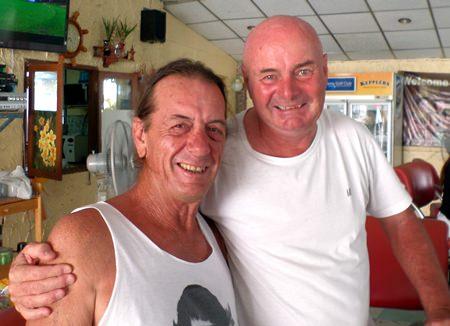 Steve Mann with Pottsy.