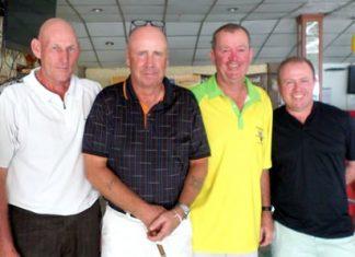 Lloyd Shuttleworth, George Barrie, Kevin Waycott and Dave Buchanan.