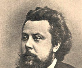 Modest Mussorgsky in1870.