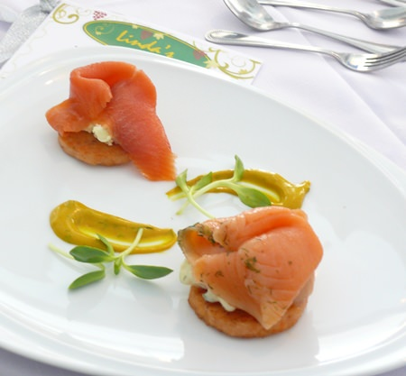 Introducing a duo of smoked and cured salmon.