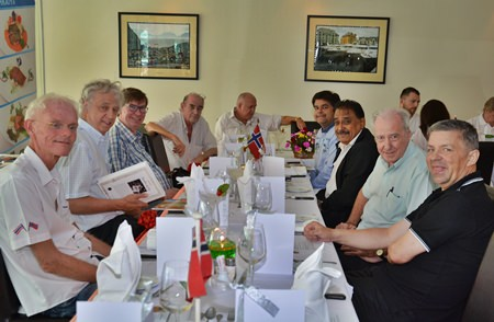 A select group of food critics and guests were invited to the special presentation.