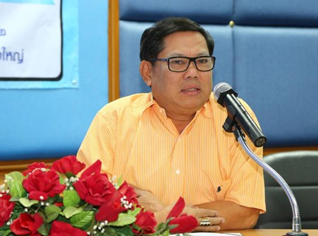Wirawat Jirasripaitoon, director of the Sanitary Department Pattaya, chairs the water inspection project.