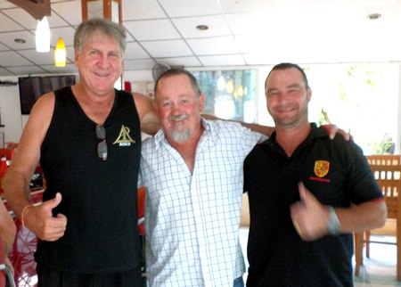 Rosco Langoulant, Squeak and David Brien.