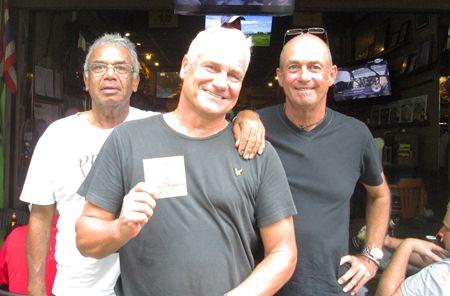 Fred Graham, Stephen Borjessan & Phil Smedley.