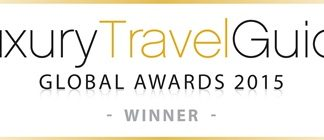 """Royal Cliff Hotels Group receives the """"Luxury Grand Resort of the Year"""" award from Luxury Travel Guide Global Awards 2015."""
