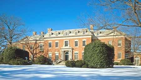 It's not much, but it's home: Dumbarton Oaks.