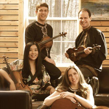 The Kontras Quartet. (fanjoy labrenz photography)