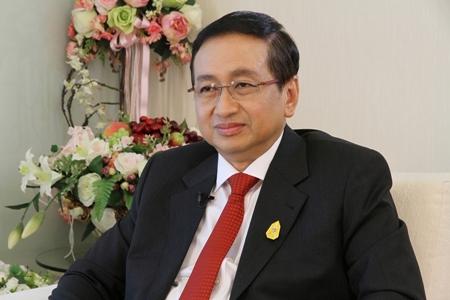 Permanent Secretary for Finance Rungson Sriworasat.