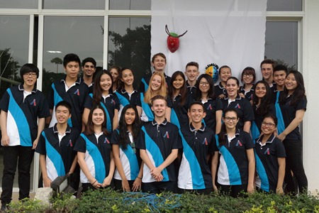 St. Andrews CAS Crew of Year 12s organized the entire event, led by Connor Bastien.