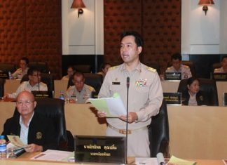 Mayor Itthiphol Kunplome tells the city council, now that the first 3 projects are approved, the city must see results before moving on to different projects and requesting more funds.