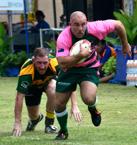 Pattaya Panther Rugby Club conducts training and touch rugby sessions at Horseshoe Point Resort every Thursday evening at 7.30 p.m.