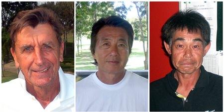 (L-R) Bill Reid, Al Marumoto and Toshihiro Aoki.