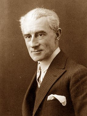 Maurice Ravel in 1925.