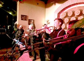 The B2F (Big to The Future) band from the Netherlands performs at Silverlake Vineyard in Pattaya on October 14.