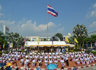 88 novice monks were ordained at last year's event.