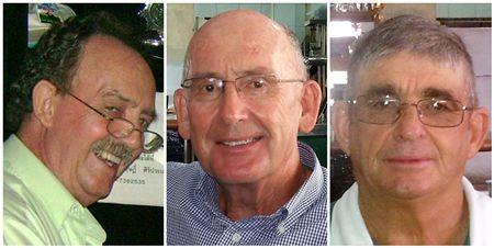 Stephen Beard, Peter Skinner and Phil Cass.