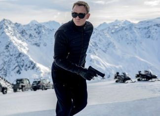 """Daniel Craig is shown in a scene from the James Bond film, """"Spectre."""" (Jonathan Olley/Metro-Goldwyn-Mayer Pictures/Columbia Pictures/EON Productions via AP)"""
