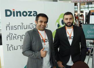 CMO Dave Malhotra (L) and CEO Veera Palsingh (R) at the Start It Up Bangkok event held on 7th November 2015.