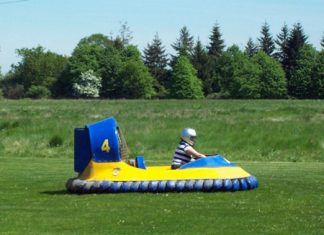 The Hovercraft build will begin in the next few weeks.