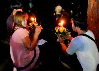 This year's Loy Krathong celebration takes place on Nov. 25.
