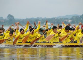 The colourful and exciting annual Pattaya longboat races will be held at Mabprachan Reservoir from November 21-22.