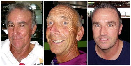 (L-R) Vincent Gras, Erik Donnestad & Steven Downes.