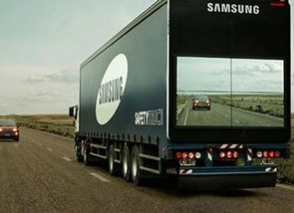 Samsung Safety Truck.