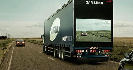 Samsung Safety Truck.