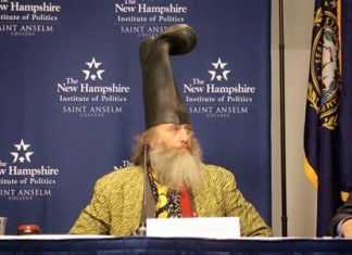 (Source: Facebook Vermin Supreme)