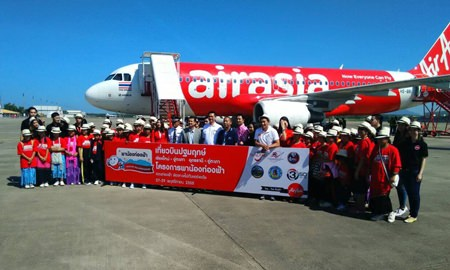 Thai AirAsia has launched new 4 routes from U-Tapao to Chiang Mai, Udon Thani, Singapore and Macau.