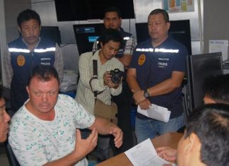 Jesper Kongerskov Hansen (left) has been remanded in custody to face extortion and bribery charges.