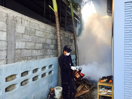 The Department of Disease Control warns that the dengue epidemic is expected to worsen this year, with 166,000 expected cases. A total of 142,925 people were infected with the virus and 141 died from dengue last year.