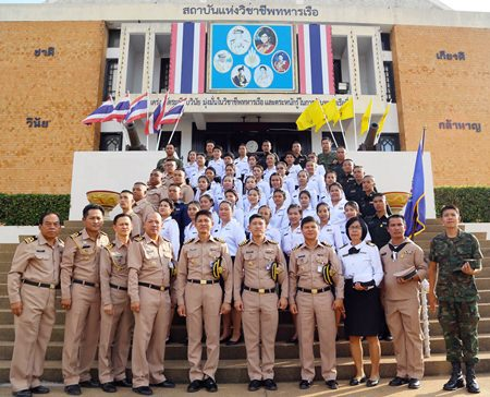 New government workers get civil-defense training in