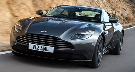 Aston reveals DB 11