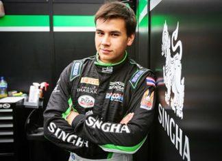 Thai racing driver Sandy Kraokaew Stuvik.