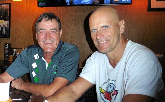 Bruce Gardner (left) and Tom Novak.
