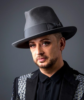 Boy George poses for a portrait in New York in this May 25, 2016 photo. (Photo by Drew Gurian/Invision/AP)