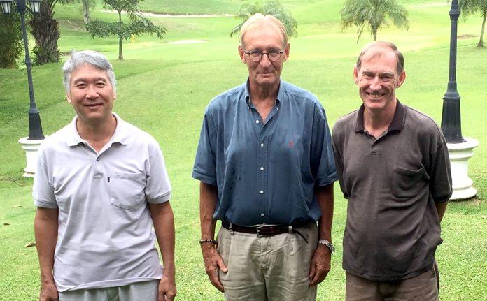 (Left to right) Daniel Oshiro, Willem Lasonder and Jonathan Pratt.