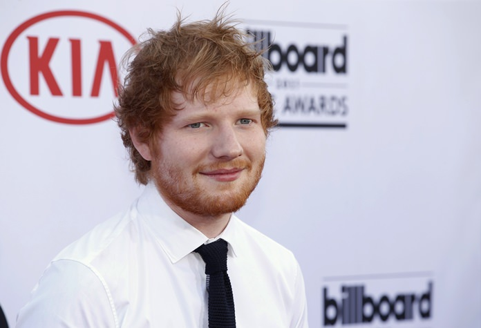 British singer-songwriter Ed Sheeran is shown in this May 17, 2015, file photo. (Photo by Eric Jamison/Invision/AP)
