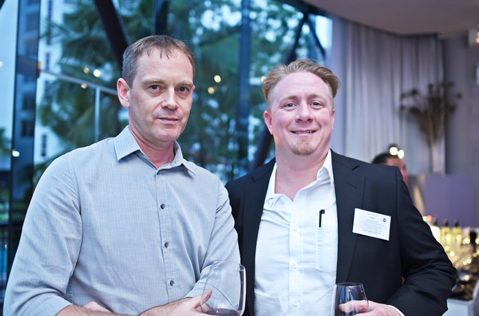 (L to R) Ken Brookes, managing director at Niedax (Thailand) Ltd., and Michael Parham, country manager at MB Thailand.