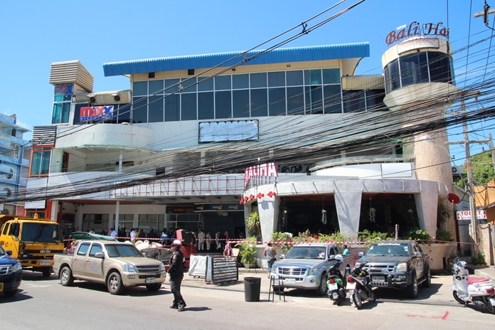 Officials have ordered Bali Hai Plaza, or at least a large section illegally built over, and blocking the South Pattaya Canal, to be destroyed. A demolition contractor has already been hired and has begun removing furniture and fixtures for the demolition.
